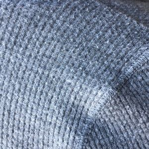 Abercrombie & Fitch Tops - Abercrombie Grey Thermal Tee